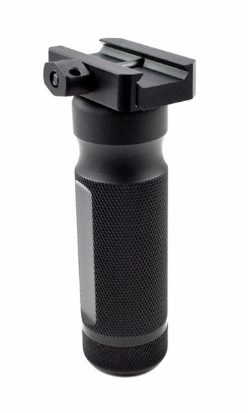 AR15 Foregrip Grip, Fixed Vertical, Aluminum - Black (GP16)