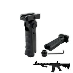 AR15 (GP02) Foregrip Grip, 5 Position Adjustable, Polymer - Black (GP02)