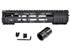 "10"" Presma LR-308 .308 DPMS High Profile - M-LOK Free Float Handguard Rail Mount with Steel Barrel Nut"