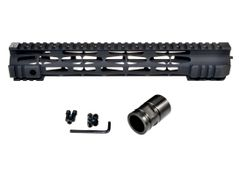 "12.5"" Presma LR-308 .308 DPMS High Profile - M-LOK Free Float Handguard Rail Mount with Steel Barrel Nut"