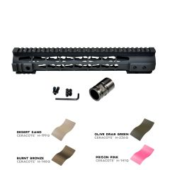 "12.5"" Presma LR-308 .308 12.5 INCH Free Float Handguard Rail Mount with KeyMod - Fits DMPS Low Profile Uppers"