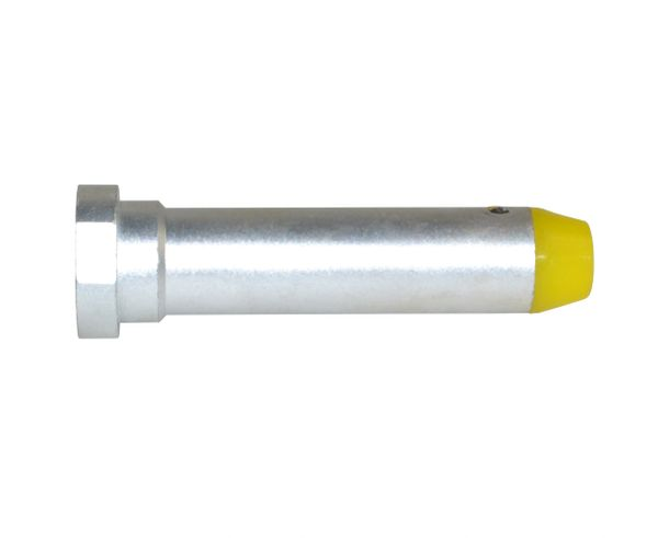 AR-15 3oz Carbine Recoil Buffer, Chrome color