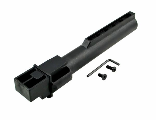 AK47 / AK74 STAMPED Receiver 6 Position Lower Receiver Extension Buffer Tube - COMMERCIAL