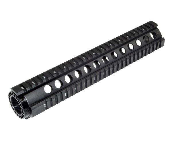 "12"" Free Float Quad Rail Handguard for AR-15 .223 / 5.56"