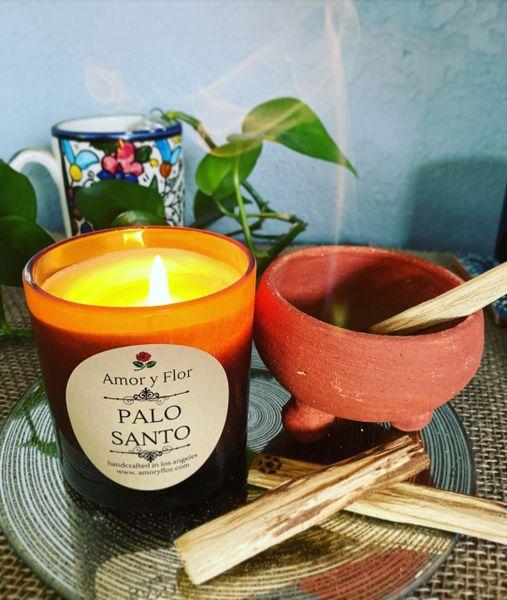 Palo Santo (clear jar)