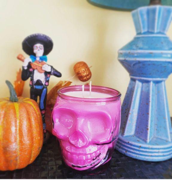 Calavera Jar - Pink