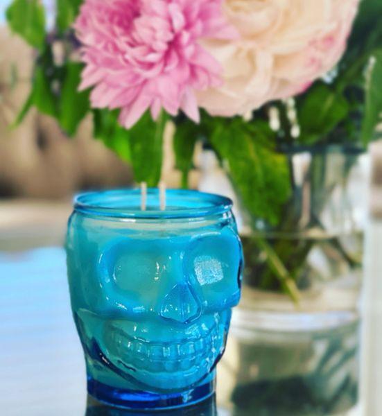 Calavera Jar - Turquoise