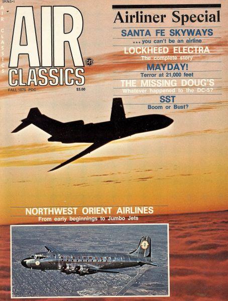 Air Classics fall 1975 magazine