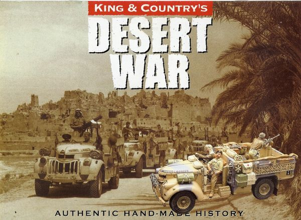 King and Country FLYER, Desert War