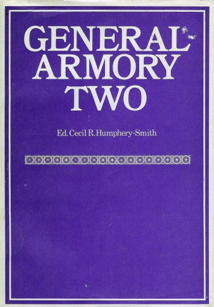General Armory Two, (Over 8000 Names & Coats of Arms)