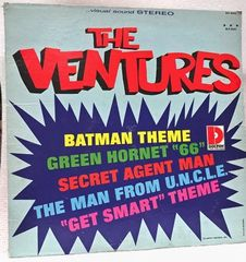 Batman, Green Honet Theme The Ventures Record, 33 1/3