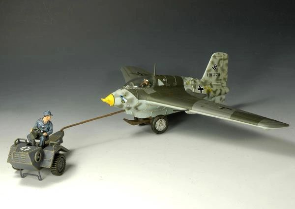KING AND COUNTRY, LW004L, 1/30, MESSERSCHMIDT ME163, (BOXED) additional shipping applies