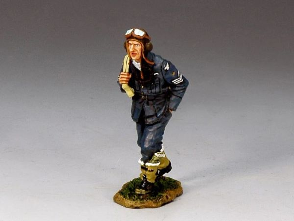 KING AND COUNTRY, RAF004, 1/30, SGT. PILOT GINGER LACY, (BOXED