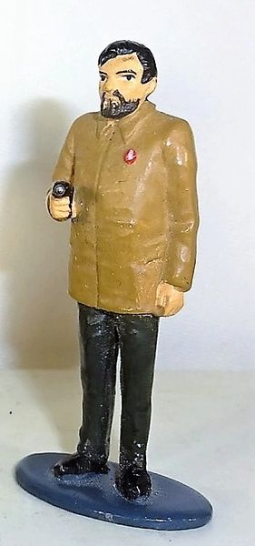 UNKNOWN MANUFACTURER, UNRC1, 1/32, RUSSIAN COMMISSAR, (UNBOXED)