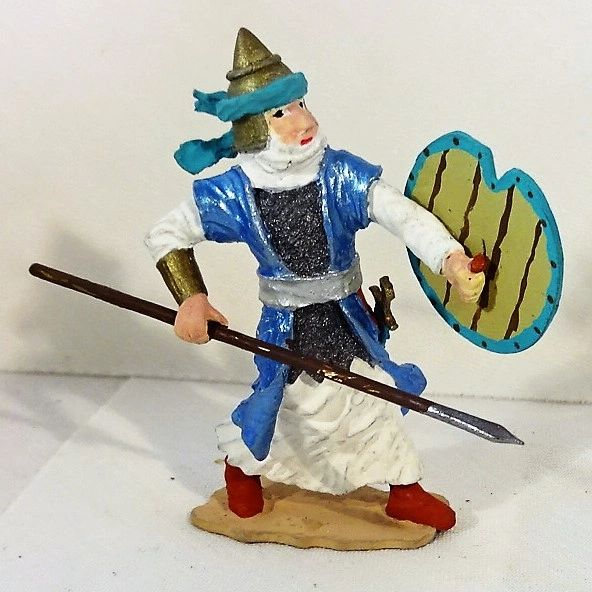 Persian Infantry with Spear, FAH1, 1/32, (Unboxed