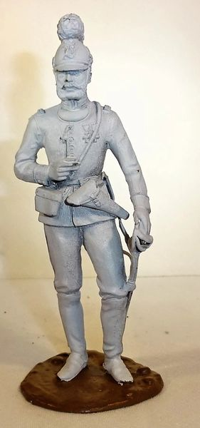 """TRADITION, TR7, 4"""", BAVARIAN OFFICER, 1900, UNPAINTED, (UNBOXED) Note"""" for painted version contact us"""