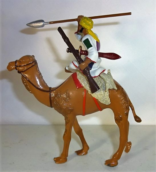 UNKNOWN MANUFACTURER, DV3, 1/32, DERVISH CAMEL CORP, 1880'S, (UNBOXED)
