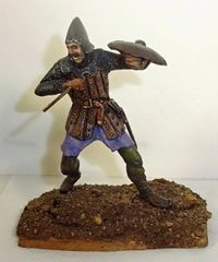 CARL HOEGERMEYER, CHAW3, 1/32, FRENCH MAN AT ARMS 1346, (UNBOXED)