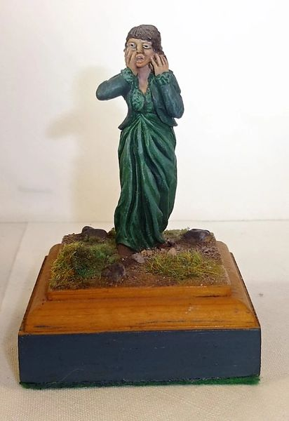 CARL HOEGERMEYER, CHAW2, 1/32, LADY IN DISTRESS, (UNBOXED)