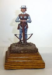 CARL HOEGERMEYER, CHAW3, 1/32, FRENCH CROSSBOWMAN, 1346, (UNBOXED)