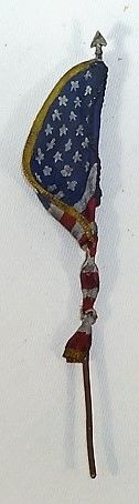 FLAG, FLUS3, 1/32, U S FLAG FOILED, (UNBOXED)
