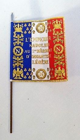 QUARTERMASTER CORP, FLGG1, 1/32, GUARD IMPERIAL, 1st REG'T, 1812 (UNBOXED)