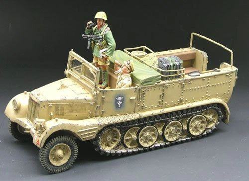 KING AND COUNTRY, AK026, 1/30, DESERT TRANSPORT (BOXED)