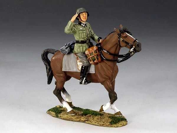KING AND COUNTRY, FOB056, 1/30, WEHRMACHT ADJUTANT (BOXED)