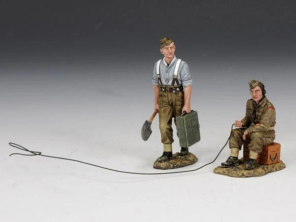 KING AND COUNTRY, FOB074, 1/30, SAPPERS AT WORK (BOXED)