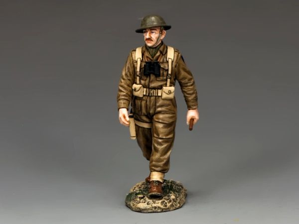 KING AND COUNTRY, FOB122, 1/30, BRITISH MARCHING OFFICER (BOXED)