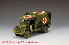 KING AND COUNTRY, PM030, 1/30, AUSTIN K2 AMBULANCE (BOXED)