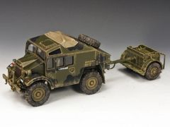 KING AND COUNTRY, DD02, 1/30, MORRIS C8 FIELD ARTILLERY TRACTOR AND LIMBER (2000) (BOXED)