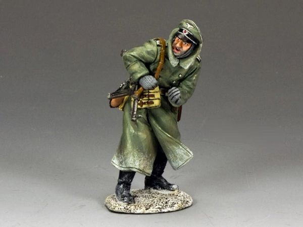 KING AND COUNTRY, BBG058, 1/30, SHOUTING OFFICER (BOXED)