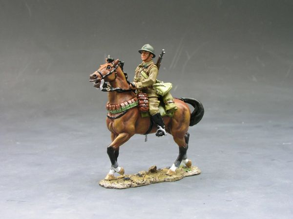 KING AND COUNTRY, FOB014, 1/30, FRENCH CAVALRY TROOPER (BOXED)