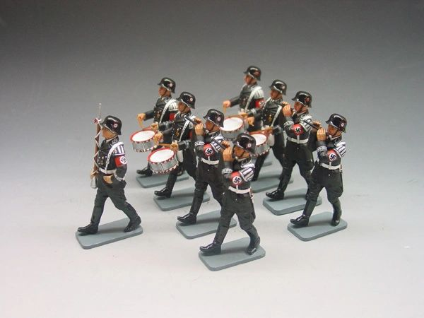 KING AND COUNTRY, LAH032, 1/30 SS FIFE AND DRUM BAND (BOXED)