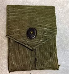 US Ammunition Pouch, for 1911 45 Auto, post Viet Nam, unmarked