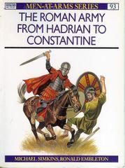 OSPREY, 1000 AD, #93, THE ROMAN ARMY