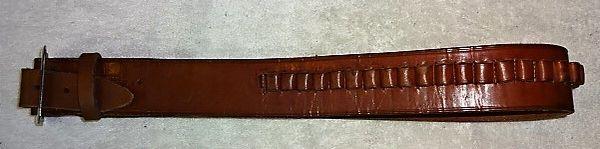 "Gun Belt with Shell Loops, 2' x 42"""