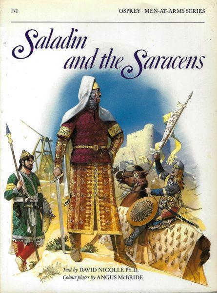 OSPREY, 1200's, #171, SALADIN AND THE SARACENS