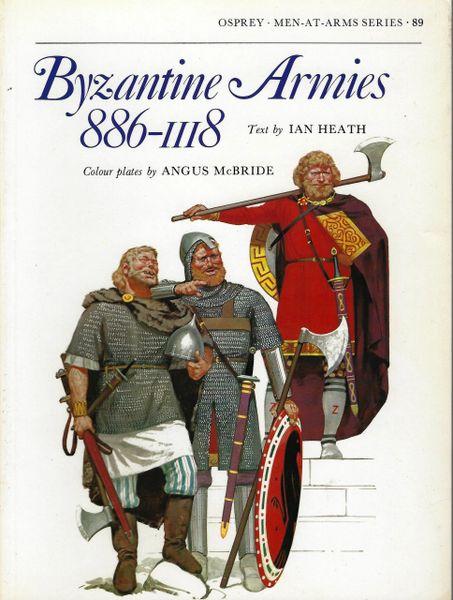 OSPREY, 1100's, 89, BYZANTINE ARMIES