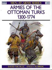 OSPREY, 1200's, 140, ARMIES OF THE OTTOMAN TURKS