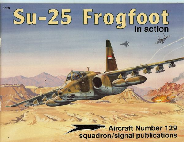 SQUADRON, RUSSIAN 1108, SU-25 FROGFOOT