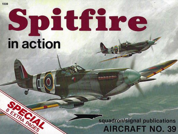 SQUADRON, BRITISH 1039, SPITFIRE