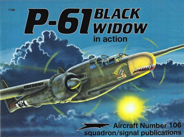 SQUADRON, USA #1106, P-61 BLACK WIDOW