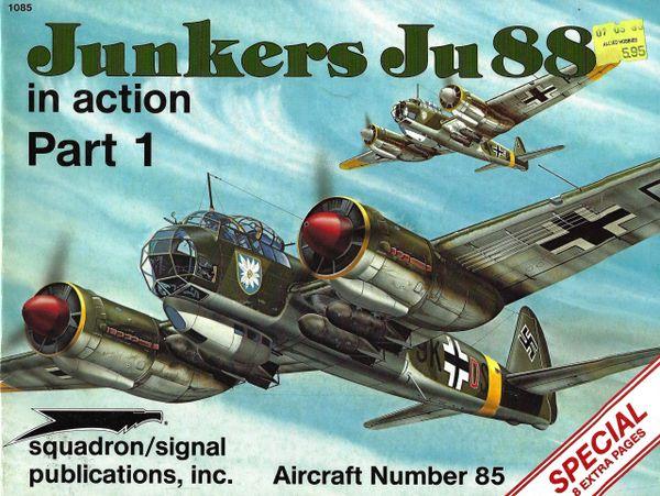 SQUADRON, GERMAN #1085, JUNKERS JU 88