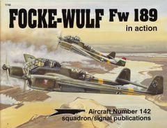 SQUADRON, GERMAN #1142, FOLKE WULF FW189