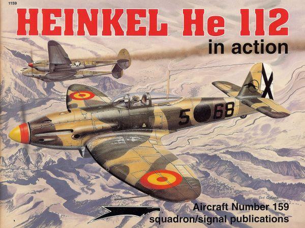 SQUADRON, GERMAN #1159, HEINKEL HE 112
