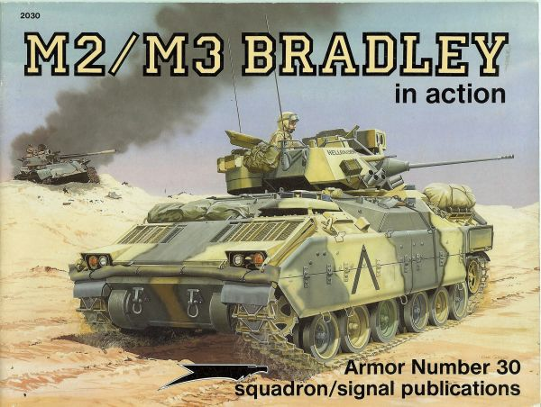 SQUADRON, ARMOR USA #30, M2/M3 BRADLEY