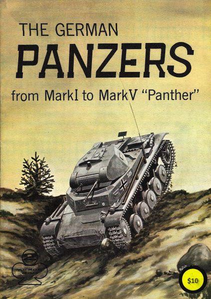 ARMOR #2, GERMAN PANZERS MARK i - MARK VI