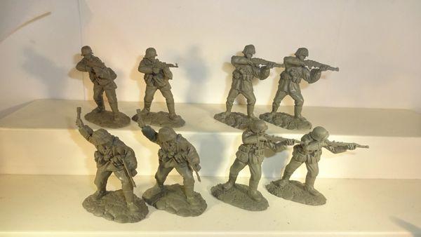 CONTE, 1/30,#WW2, (15) PLASTIC GERMANS